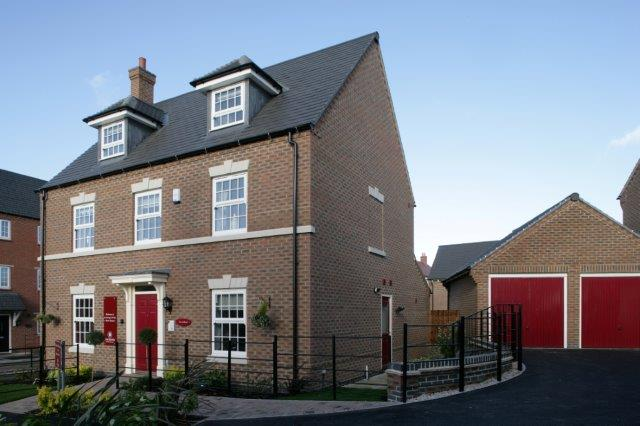 The Long Shoot - The Oxford showhome at another Davidsons development