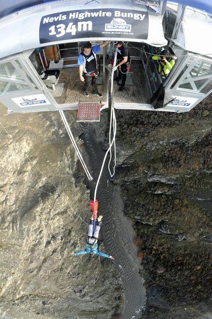 Bungee jumping New Zealand
