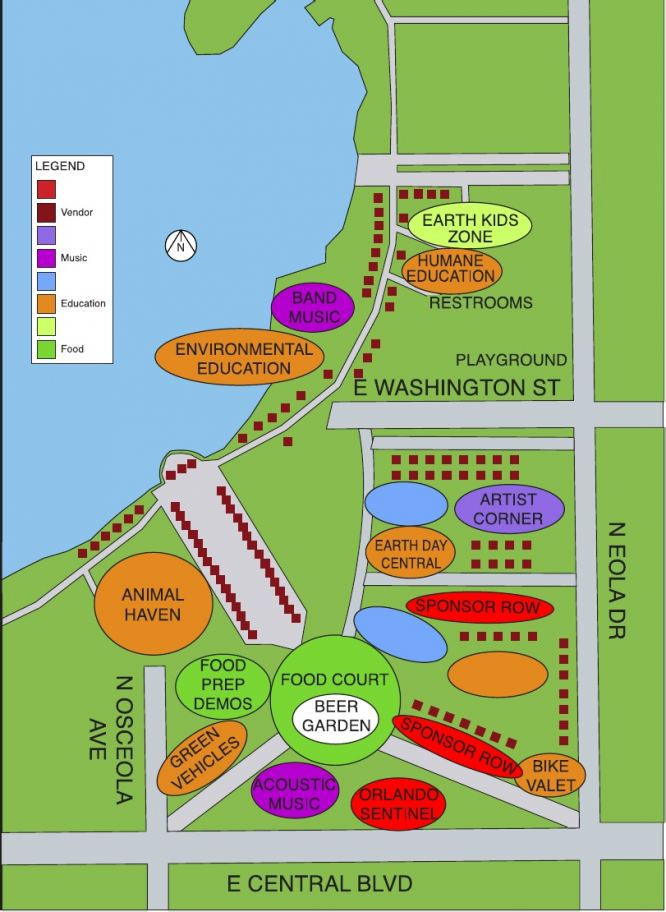 Event and Area Maps