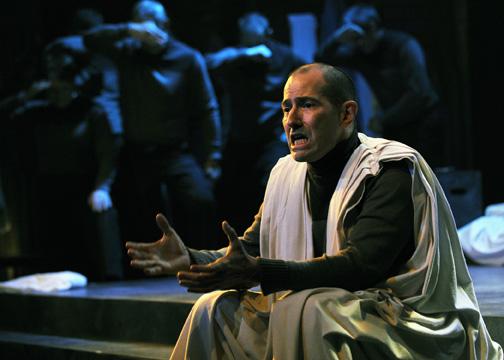 Paul Bernardo in 'Julius Caesar' (photo by Tony Firriolo)