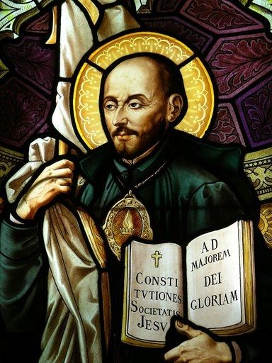 """""""Go forth and set the world on fire"""" -  Ignatius of Loyola"""