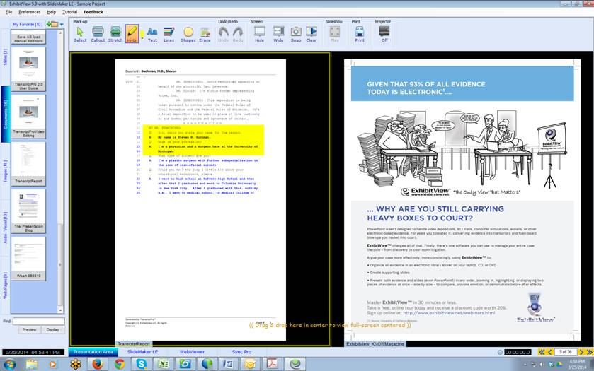 ExhibitView 5.0 Screen Shot 2