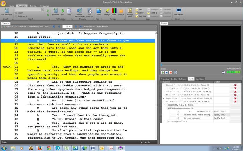 TranscriptPro 2.0 Screen Shot