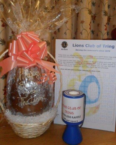 Beechwood Fine Foods & Tring Lions Easter Egg Marc