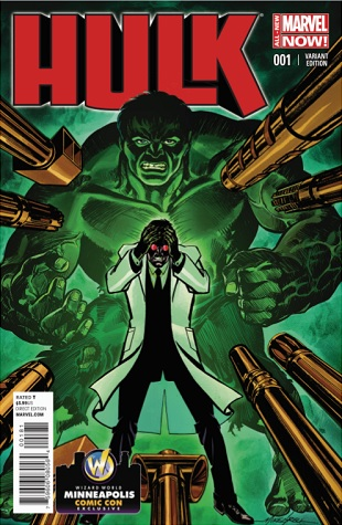 Hulk #1 Variant Cover by Mike Grell