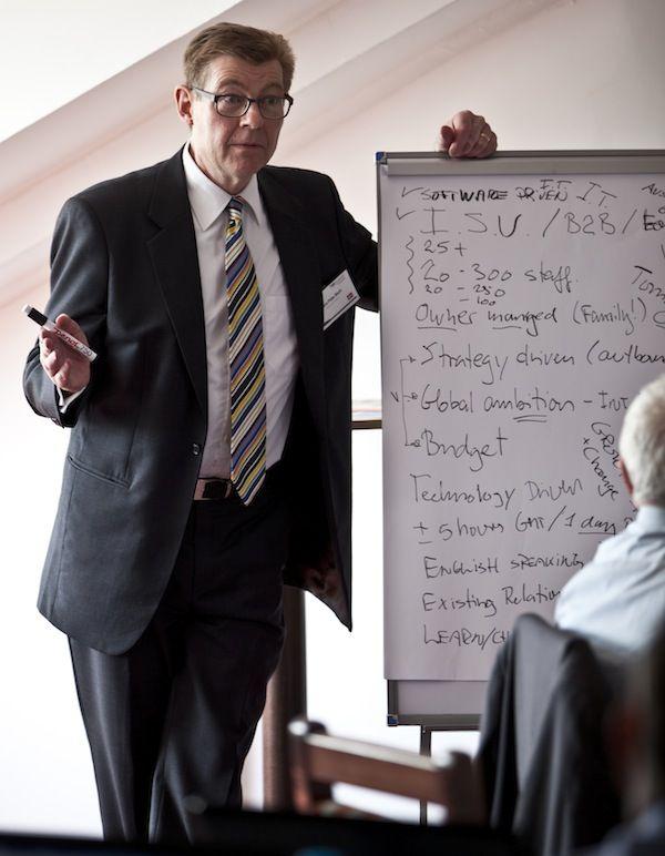 TBK Consult CEO, Hans Peter Bech