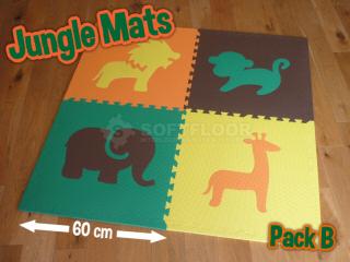 Jungle Mats by Soft Floor UK