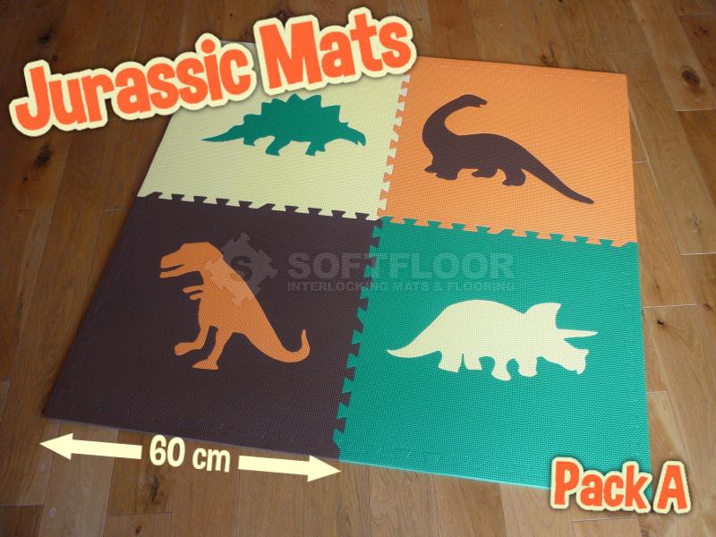 Jurassic Mats by Soft Floor UK
