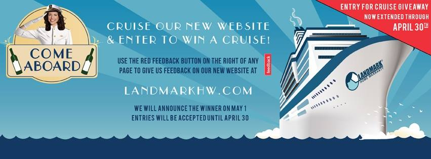 Cruise Giveaway by Landmark Home Warranty
