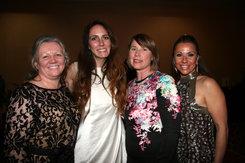Sheila Rockwell CFO, Kristin Farmer LLA, Bridget McDonald President, Mint Arella