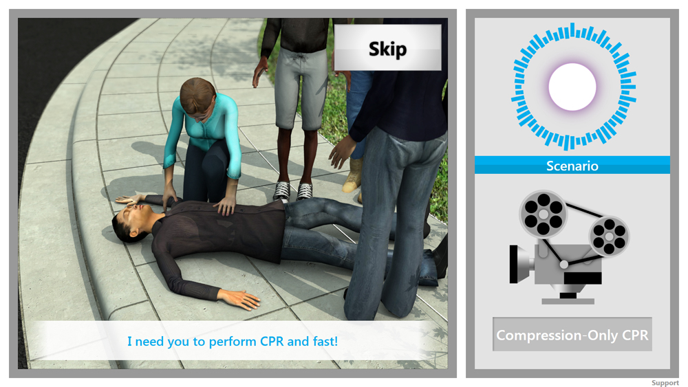 AIMS CORE CPR Scenario