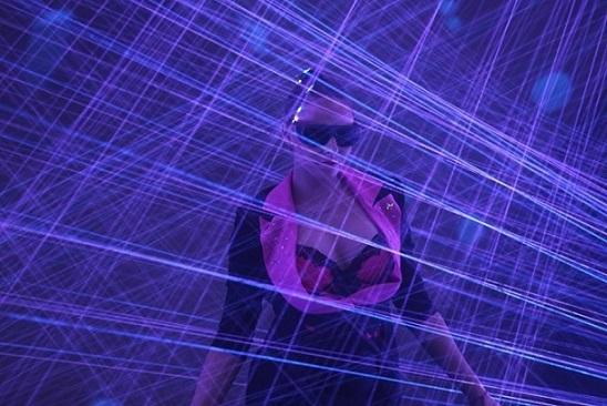 Kvant Laser Show at Prolight+Sound 2014