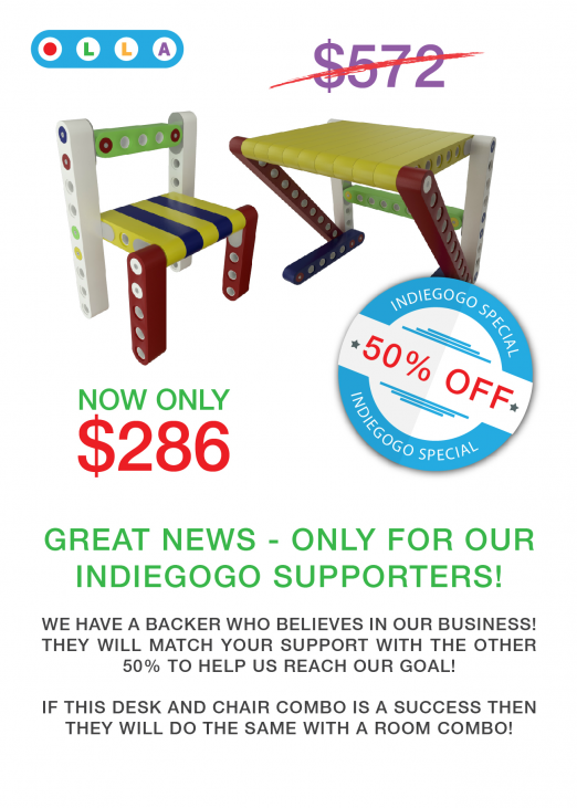 50% OFF - INDIEGOGO SPECIAL! Now only $286 instead of $572