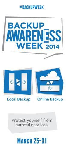 Community image for sharing Backup Week on your blog or website