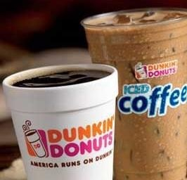 Enjoy Dunkin' Donuts Hot & Iced Coffee at the Novi Home & Garden Show