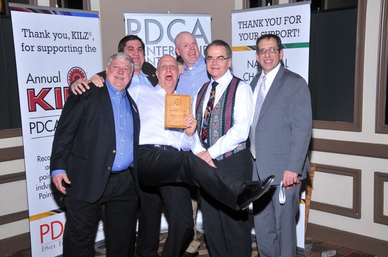PDCA Award winners revel after receiving their honors