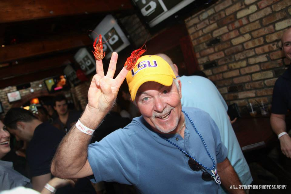LSU fans know how to do it right!
