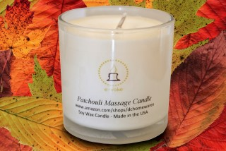 Soy Wax Massage Oil Candle by e-voke