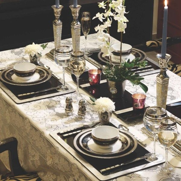 Venetian dinner set
