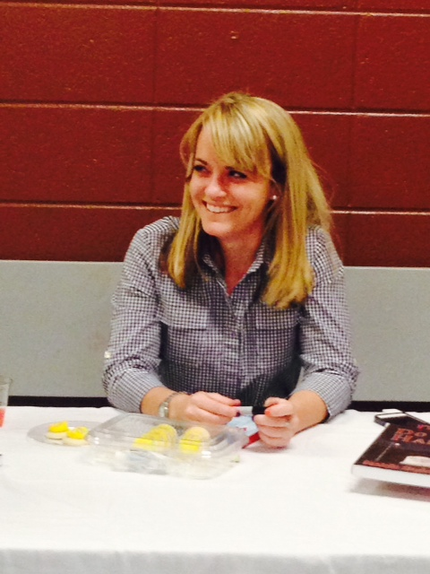Post-event book signing