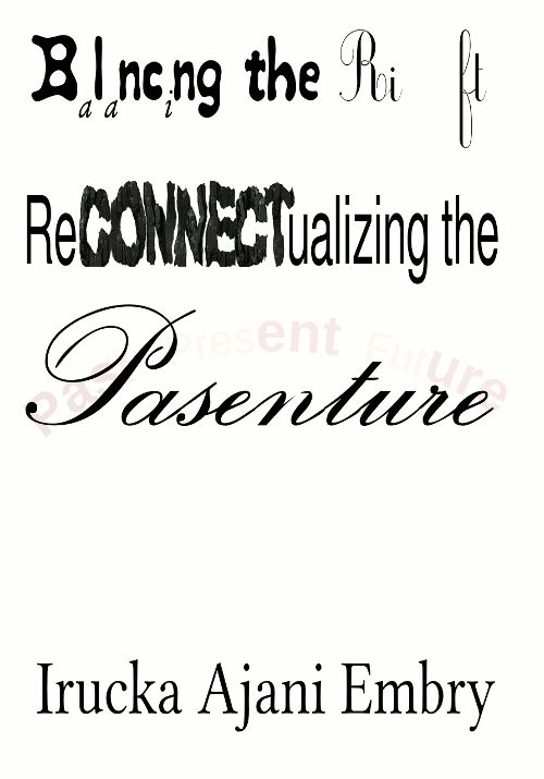 """Balancing the Rift: ReCONNECTualizing the Pasenture"" front cover image"