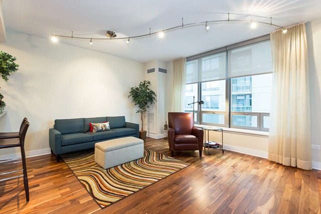 600 N Lake Shore Drive 3810 - Living Room