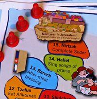 Passover Seder Steps Follow-Along from JewishHolidaysInABox.com