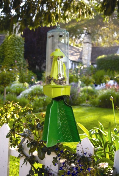 RESCUE!® Stink Bug Trap in garden