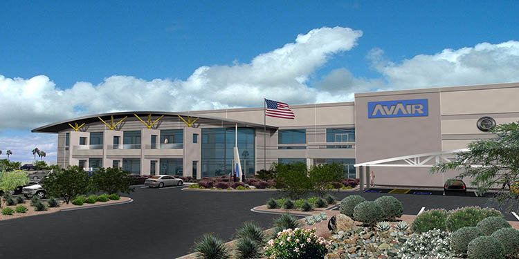 Av-Air Corporate Headquarters Rendering