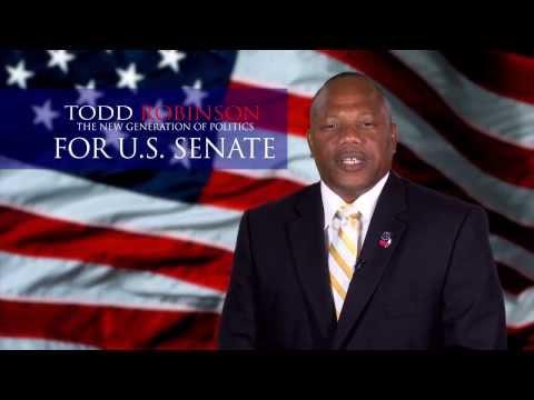 Todd Robinson For US Senate #democraticparty #politics