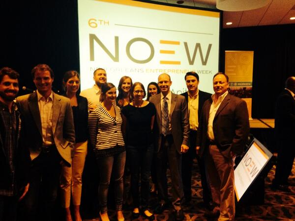 zlien team at New Orleans Entrepreneur Week Coulter IDEAPitch
