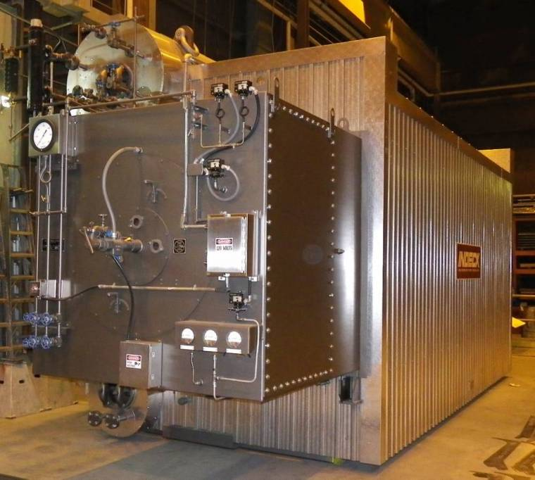 90,000 PPH Boiler by Indeck