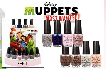 The OPI Muppets Most Wanted Collection, new for 2014