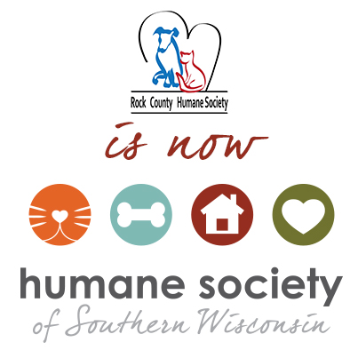 Rock County Humane Society is now Humane Society of Southern Wisconsin