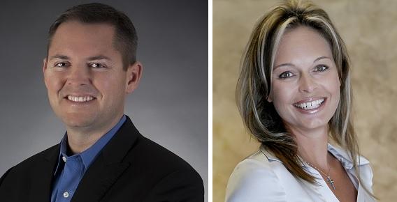 Aaron Davis and Mary Howard