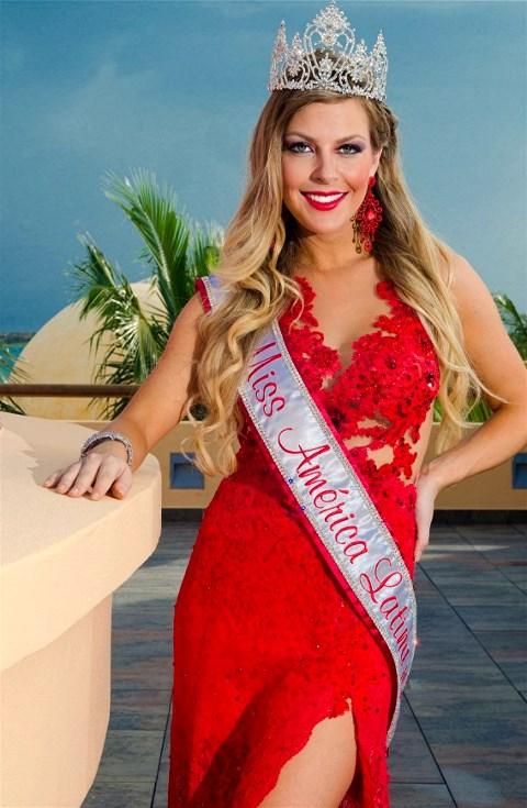 Miss Latin America of the World Julia Guerra