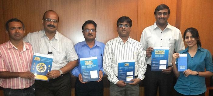 Dr. M.S.Sudarshan with Mr. HariKishore, Mr.Shankar, Ashok, Vaibhav & Ms.Shalmali