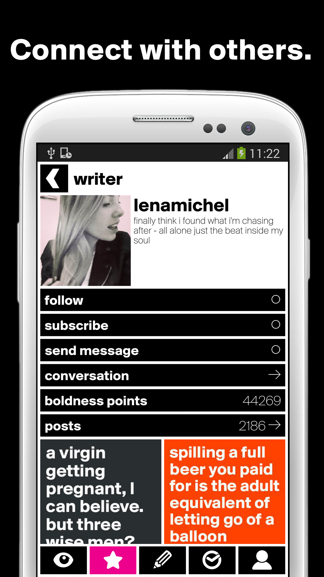 Great writer community
