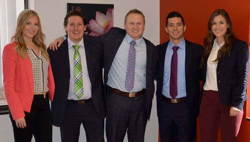 STC Direct Management Team with Newly Promoted Phillip Stodgell
