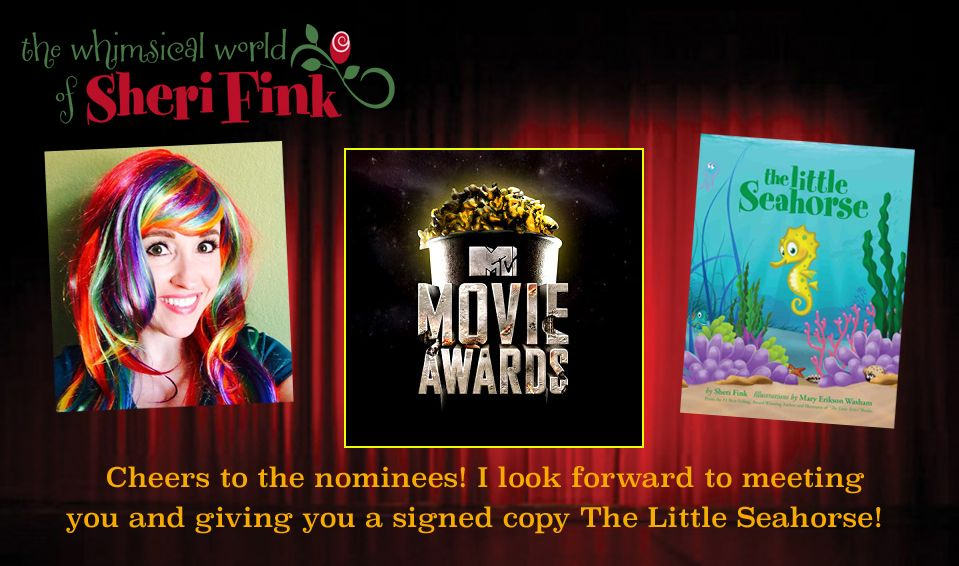 The Little Seahorse book gifted to MTV Movie Award Nominees