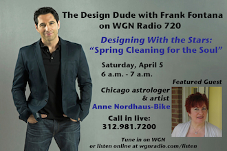 Anne Nordhaus-Bike, Frank Fontana talk springtime astrology 4/5 on WGN Radio.