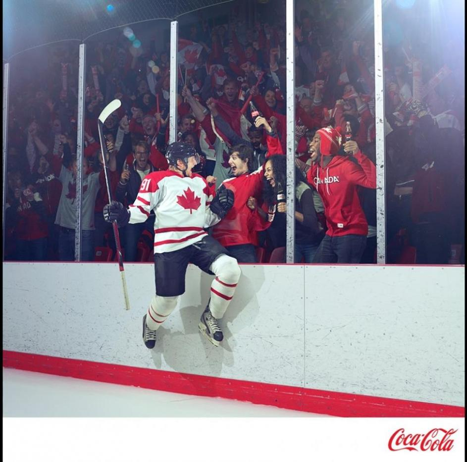 Coca Cola Print Ad-  Principal Talent Used Sam K.