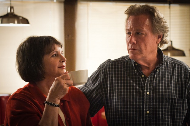 John  Heard and Cindy Williams in STEALING ROSES