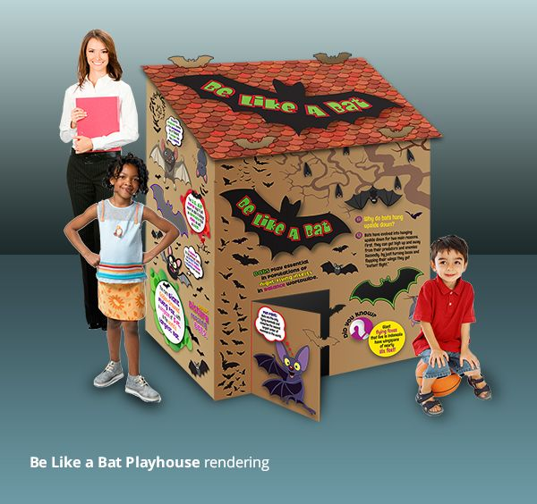 Be Like A Bat Playhouse