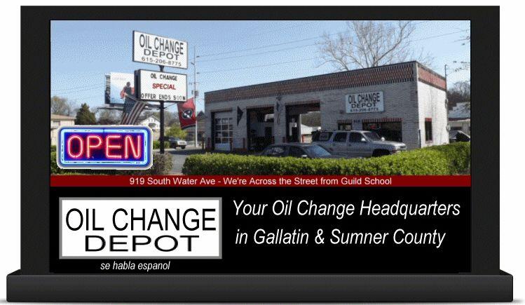 Oil Change Depot in Gallatin