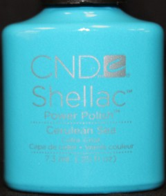 Nail Polish and More has new CND Shellac and Vinylux colors like Cerulean Sea