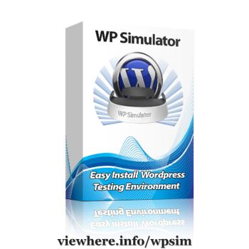 WPSimulator  - Create, Test, Clone, Backup & Fix WordPress Sites Off-line