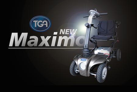 TGA Maximo folding mobility scooter