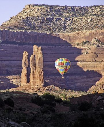 Hot air ballooning is just one way to see Moab