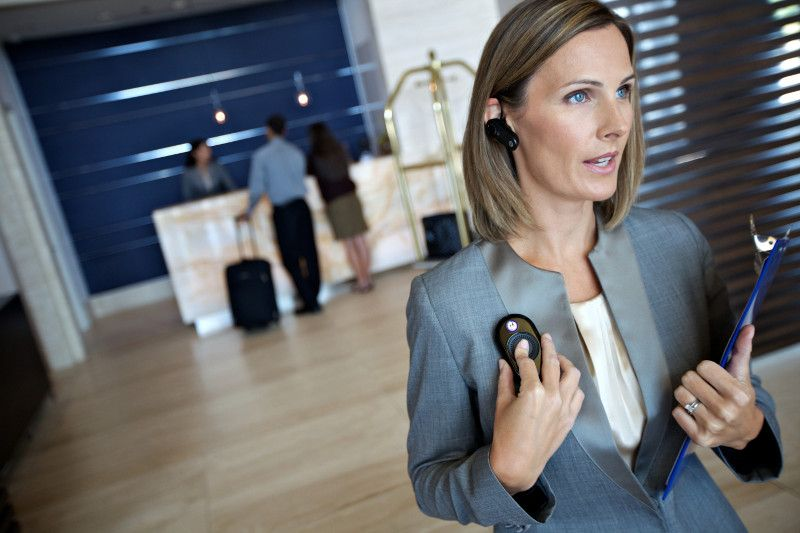 Motorola's CLP Series of two-way business radios are perfect for hospitality.